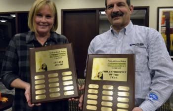 Raimondos, Gerhold recognized for giving back